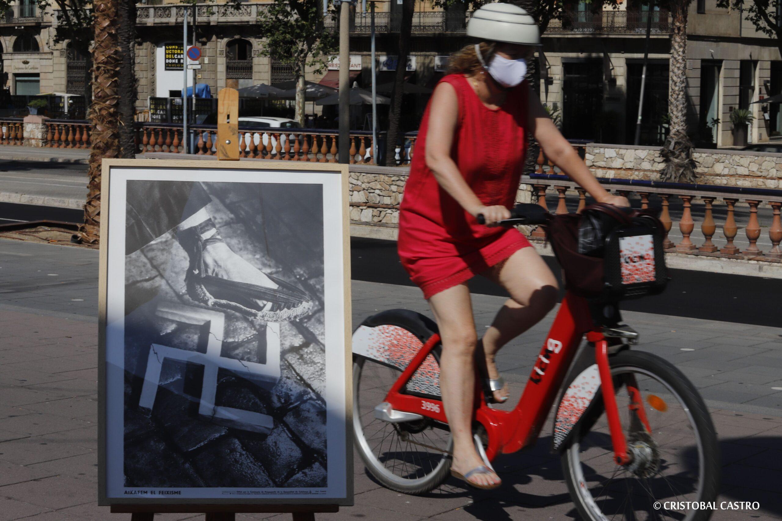 La Fundació Reeixida reedita el cartell 'Aixafem el feixisme' 85 anys després/Cristóbal Castro