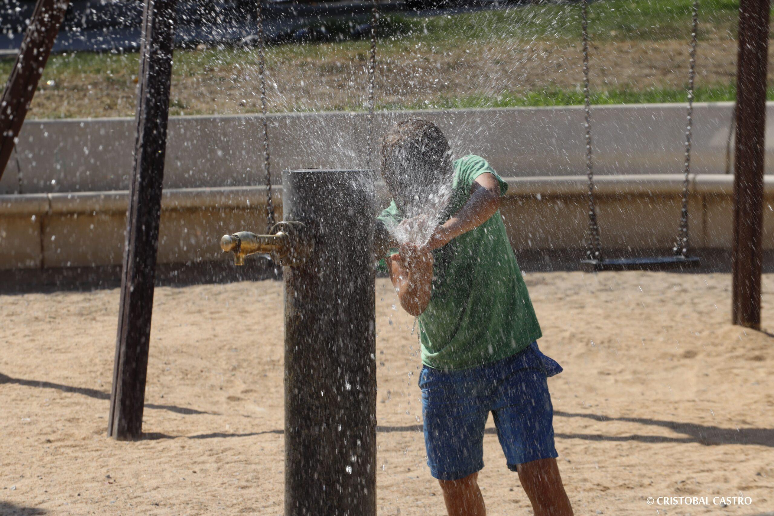 Un dia de calor extrema a Terrassa vist des de la càmera de Cristóbal Castro/Cristóbal Castro