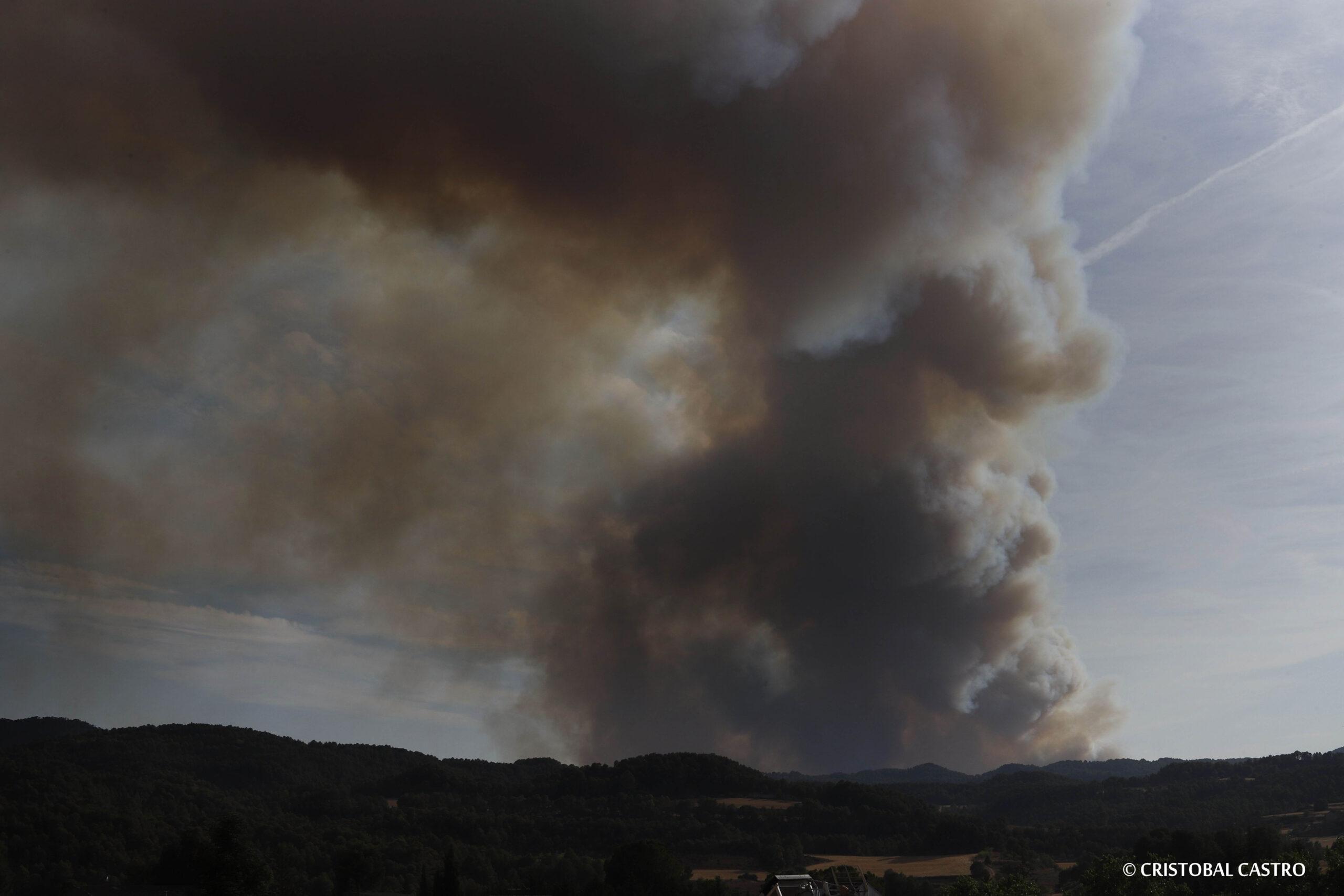 L'incendi de Santa Coloma de Queralt/Cristóbal Csstro