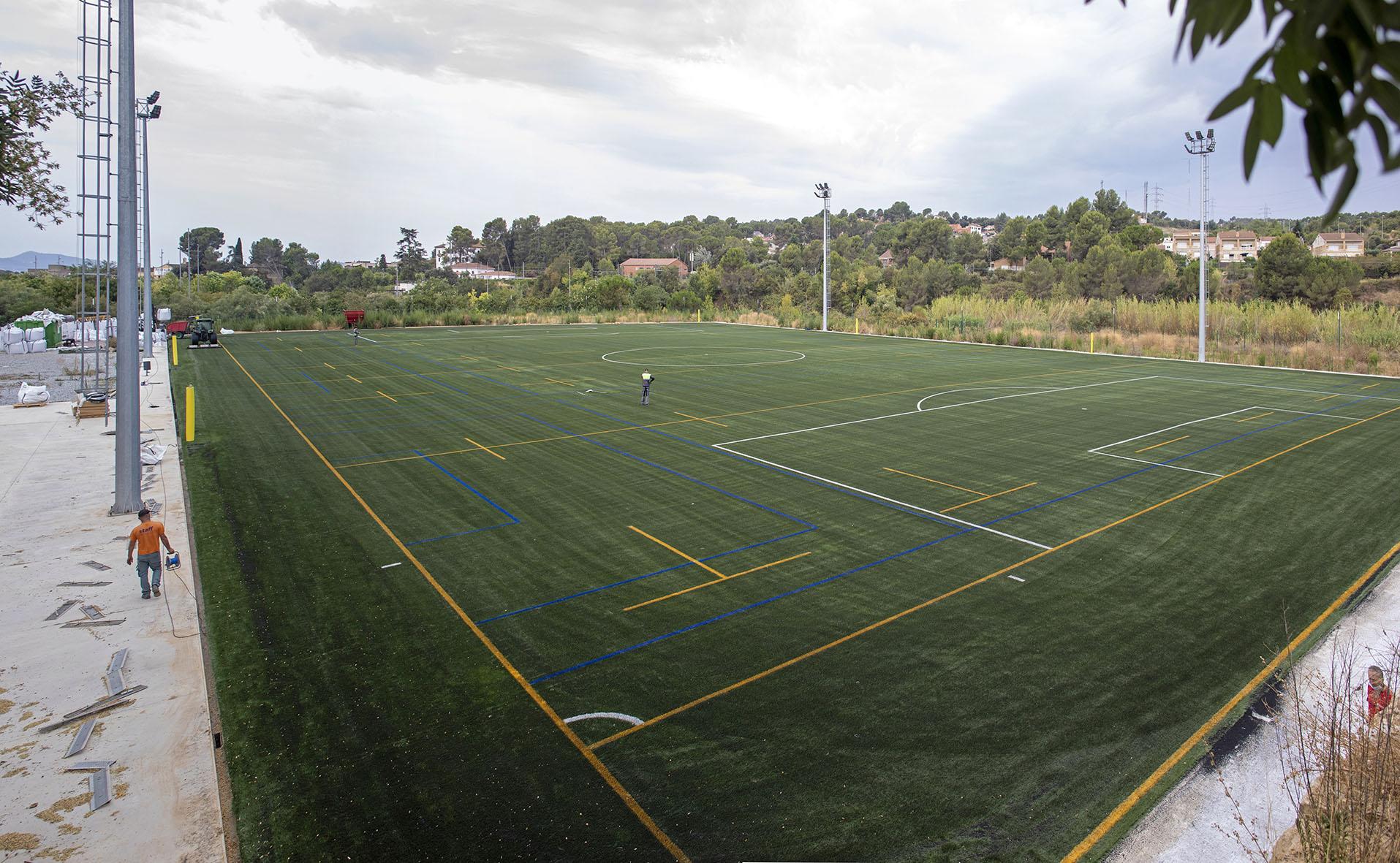 camp polivalent de Rugbi i futbol de les Fonts de Terrassa
