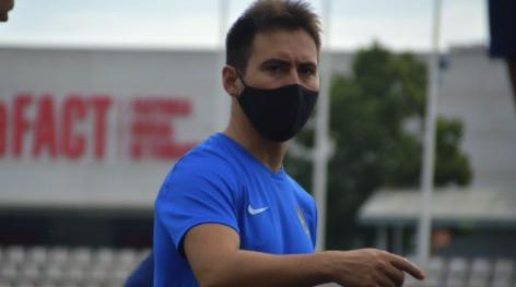L'egarenc Carlos Contreras, nou entrenador de porters del Terrassa FC/Terrassa FC