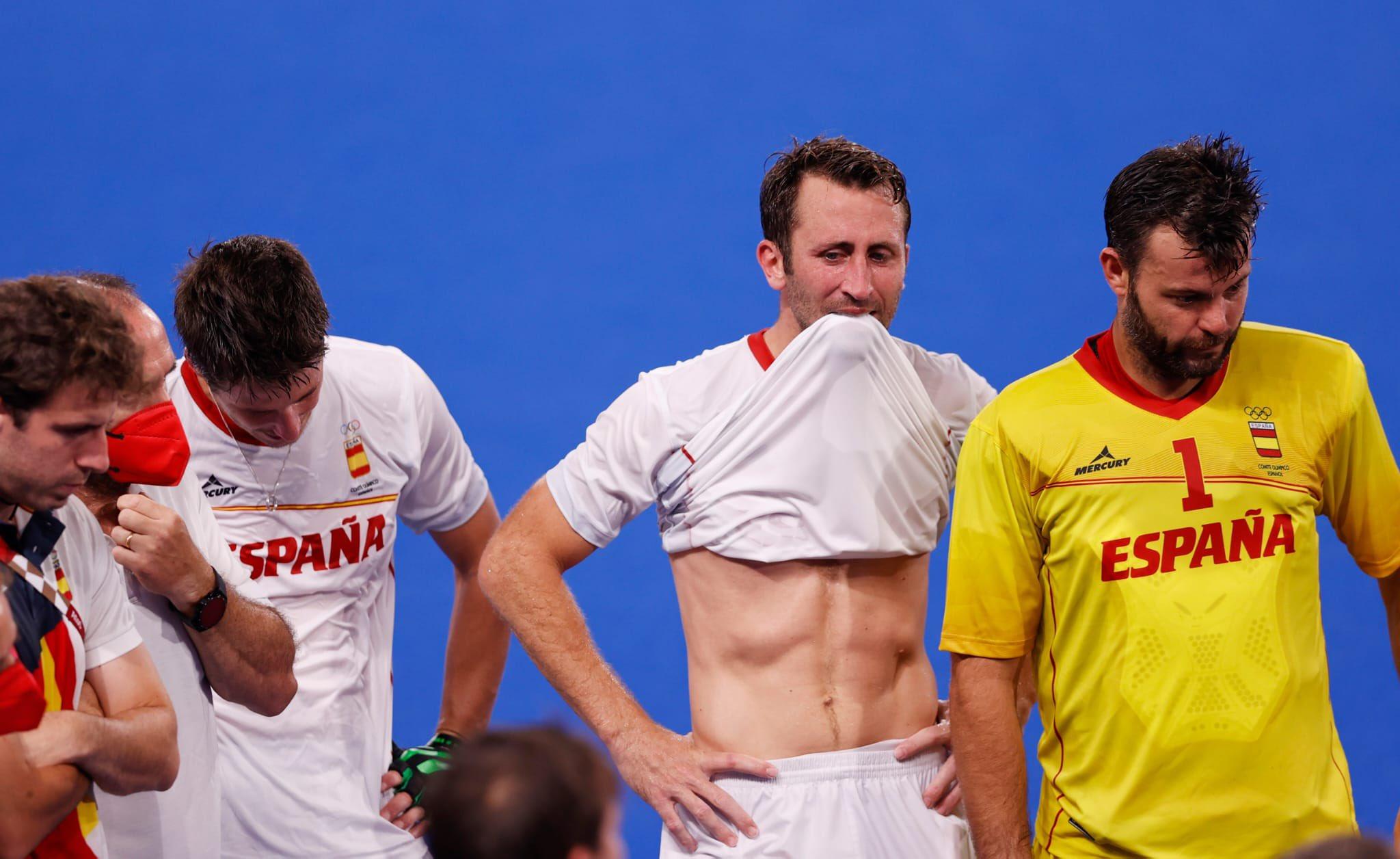 Derrota a quarts de la selecció espanyola als Jocs de Tòquio | COE