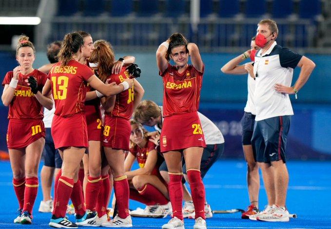 Derrota de la selecció espanyola a quarts de final davant de Gran Bretanya | COE