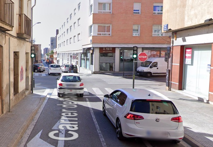 Carrer Baldrich amb carretera Montcada | G.E.
