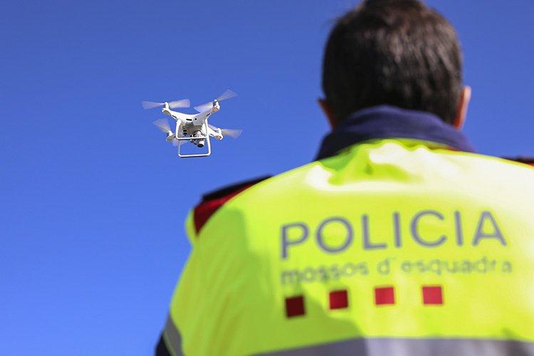 Dron dels Mossos d'Esquadra