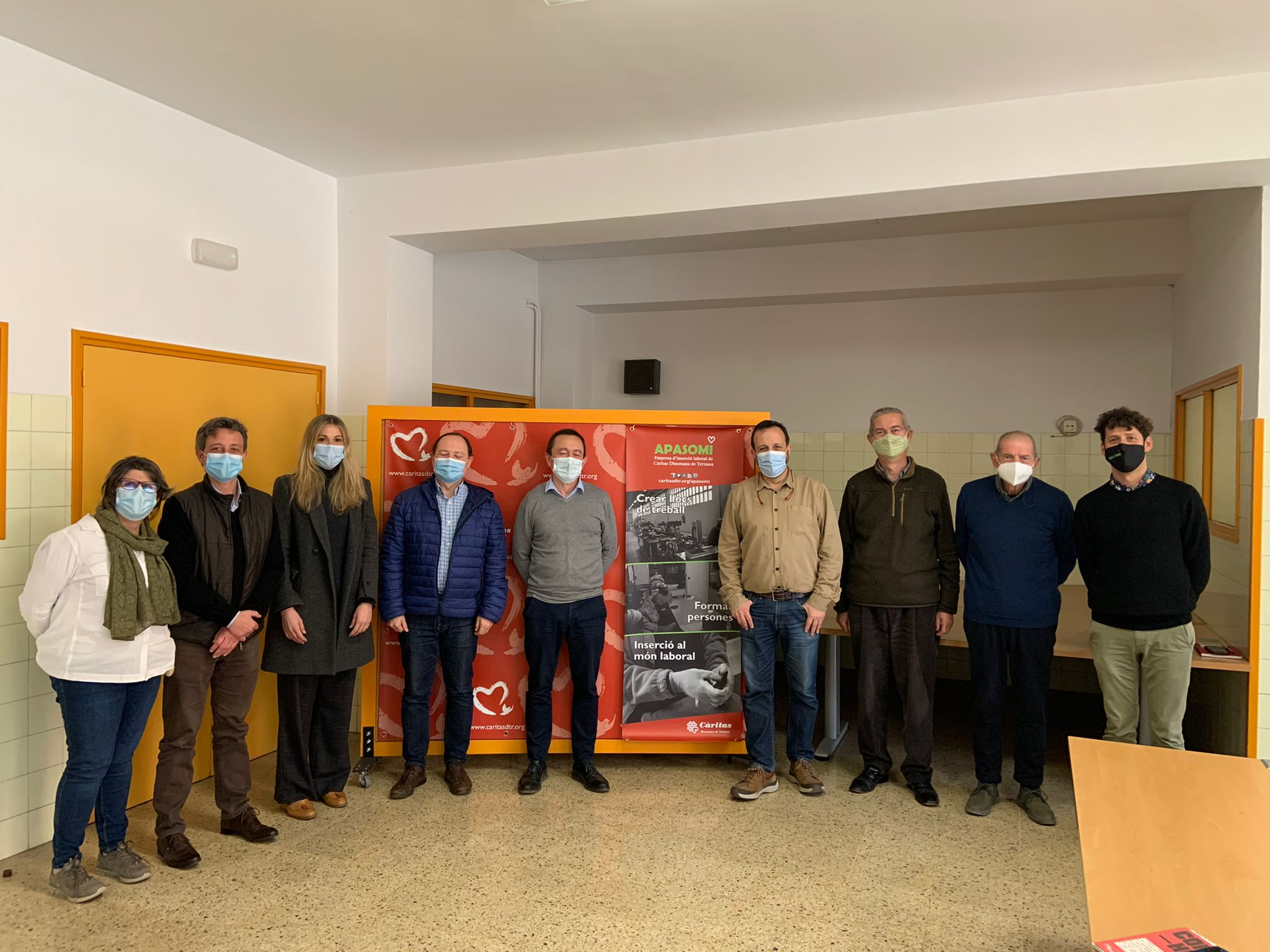 Jornada d'intercanvi d'experiències entre Càritas Terrassa i les fundacions Vallès Oriental i Viver Bell-lloc | Càritas