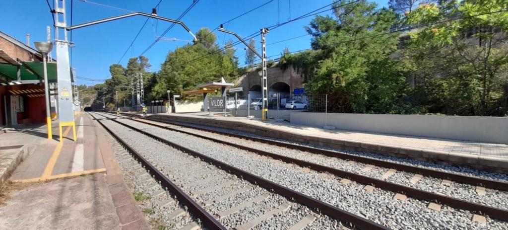 Estació de Renfe Vacarisses-Torreblanca | Aj. Vacarisses