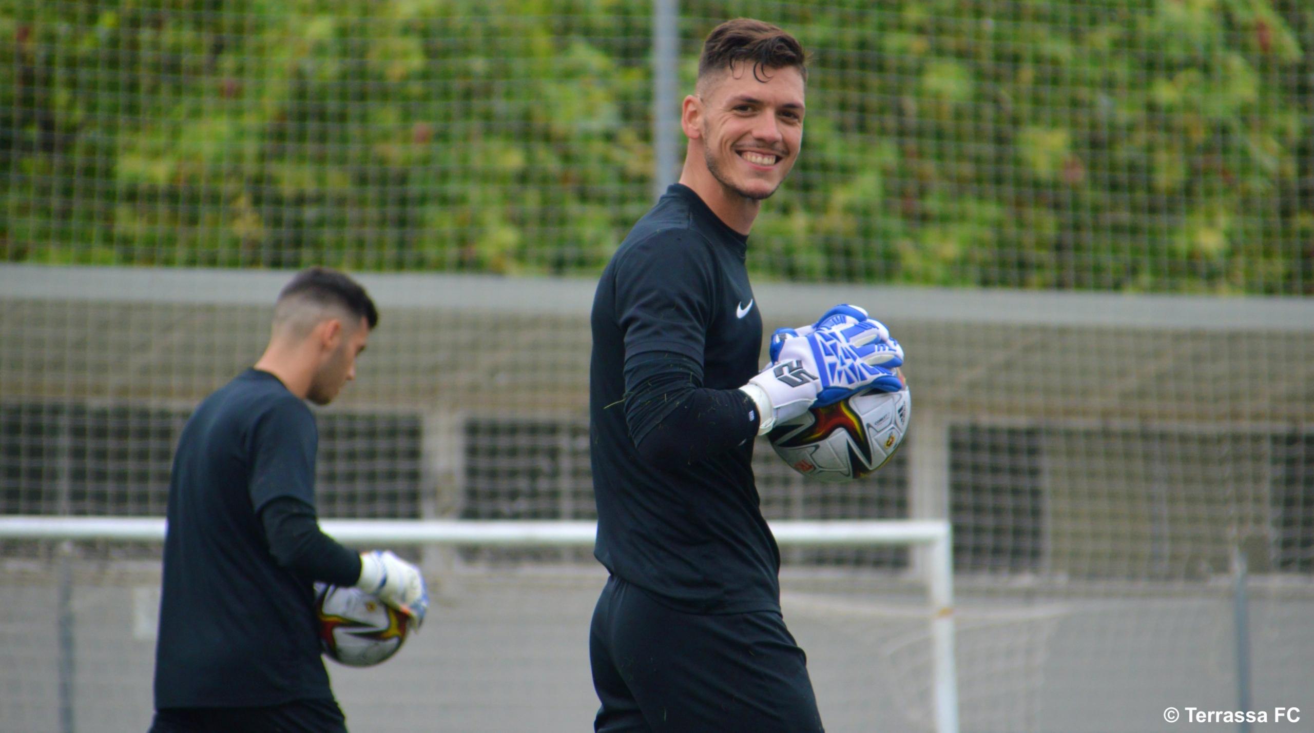 El porter Juanvi, nou reforç per al Terrassa FC | Terrassa FC
