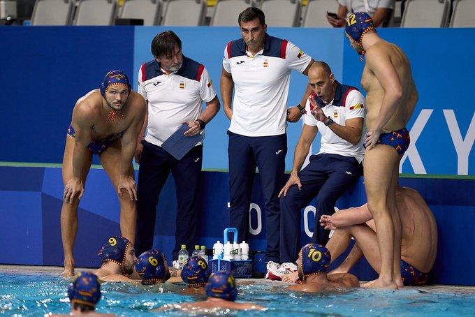 La selecció espanyola de waterpolo ha caigut en la lluita pel bronze als JJOO | RFEN