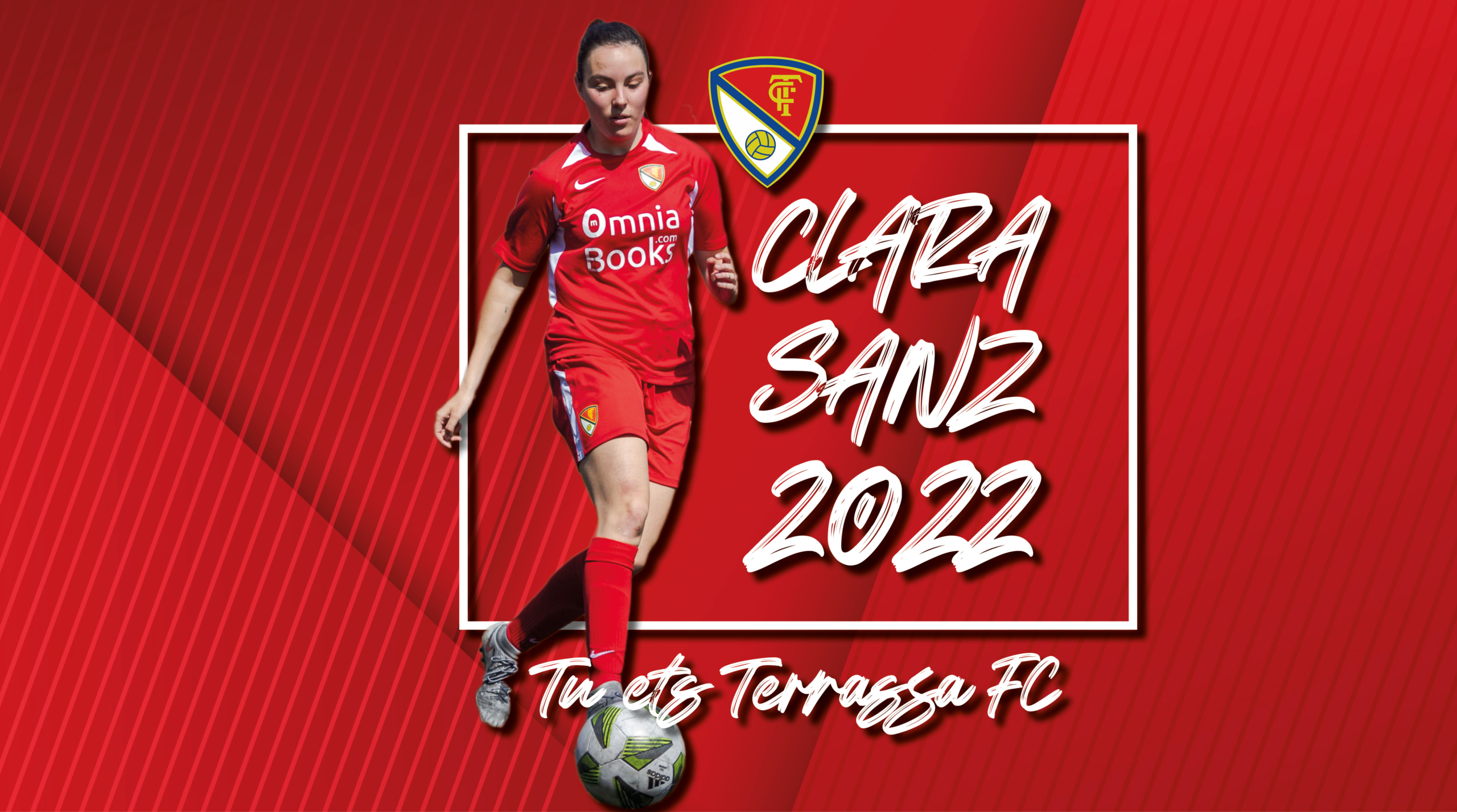 Clara Sanz ha renovat pel Terrassa FC