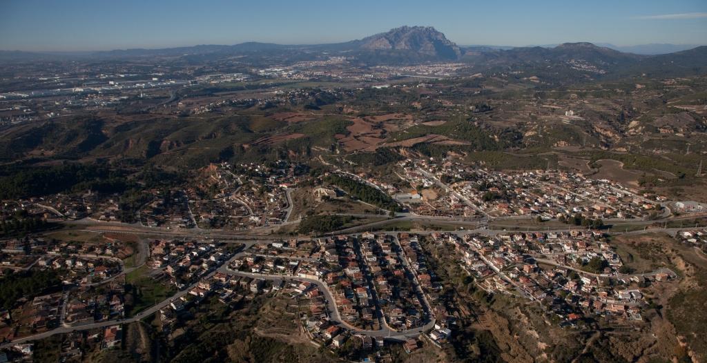 Imatge de les urbanitzacions del sector nord-oest de Castellbisbal, en una Imatge d'arxiu | Aj. Castellbisbal