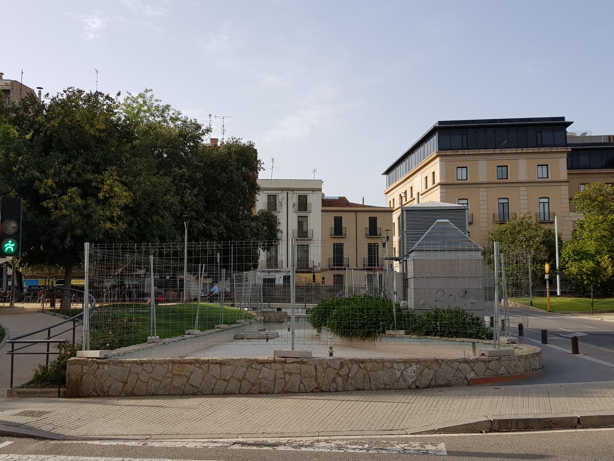 La bassa del passeig Comte d'Ègara de Terrassa | Lluïsa Tarrida