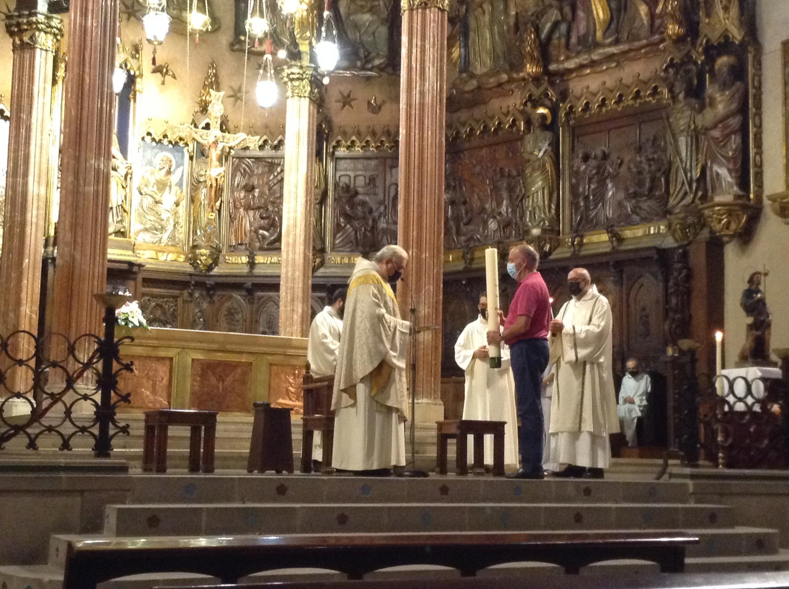 Missa a la catedral de Terrassa per Sant Roc | Josep Ballbé