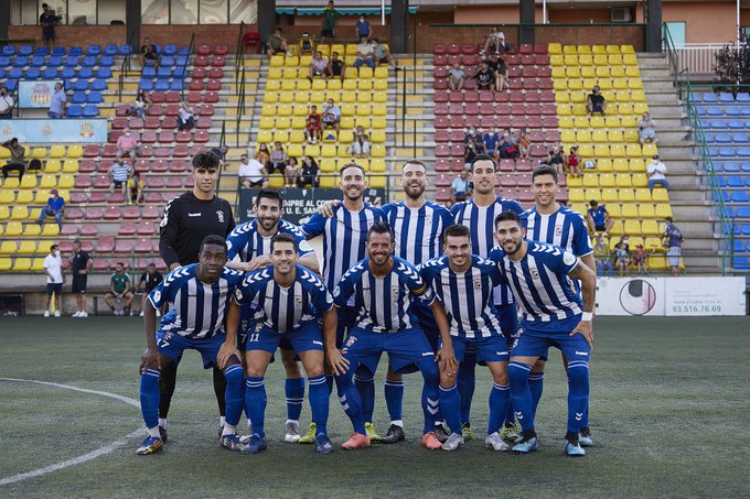 Onze inicial del CP San Cristóbal contra la UE Sant Andreu, en partit amistós de pretemporada   CP San Cristóbal