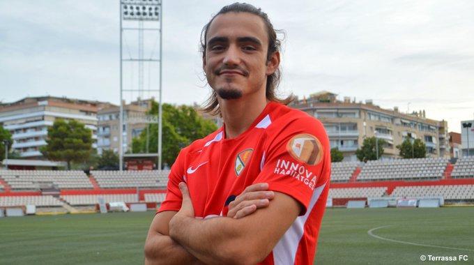 Bruno Lorente de los Santos, amb el Terrassa FC | TFC