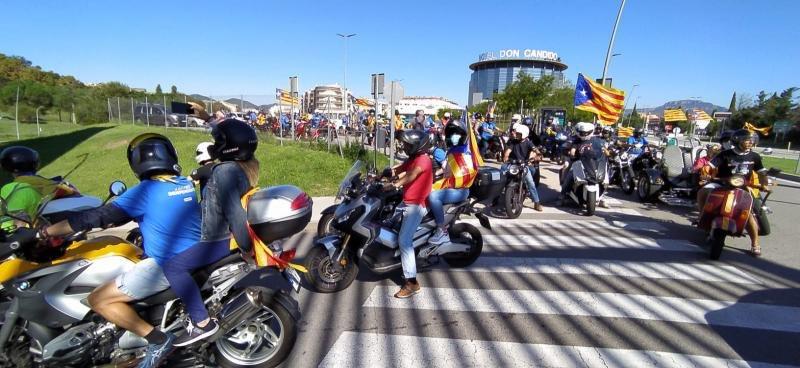 Primera edició del Rodes per la Independència a Terrassa   ANC
