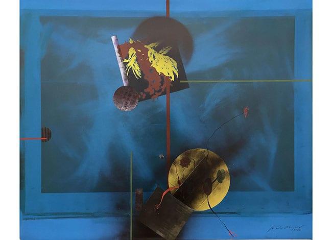 Un quadre de Jordi Aligué que es podrà veure a la mostra | Parcs de Catalunya