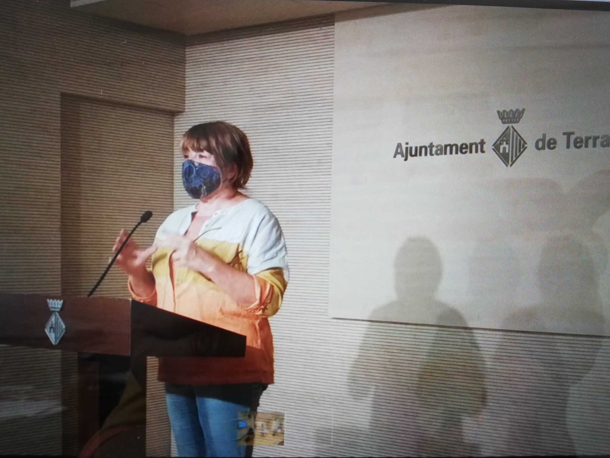 La tinent d'alcalde de Territori i Sostenibilitat, Lluïsa Melgares | Aj. Terrassa