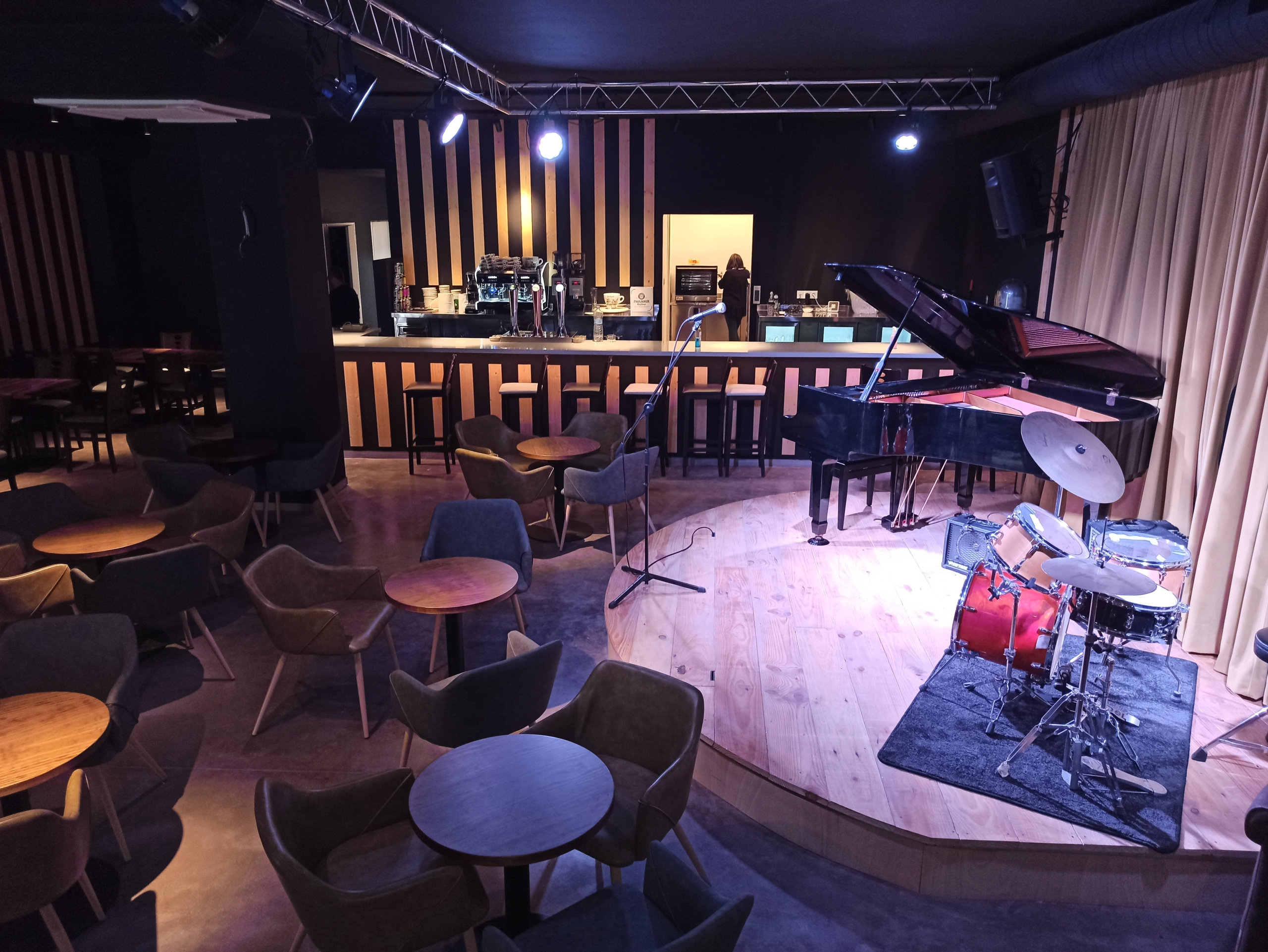 Instal·lacions del nou Cafè de l'Aula | Cedida