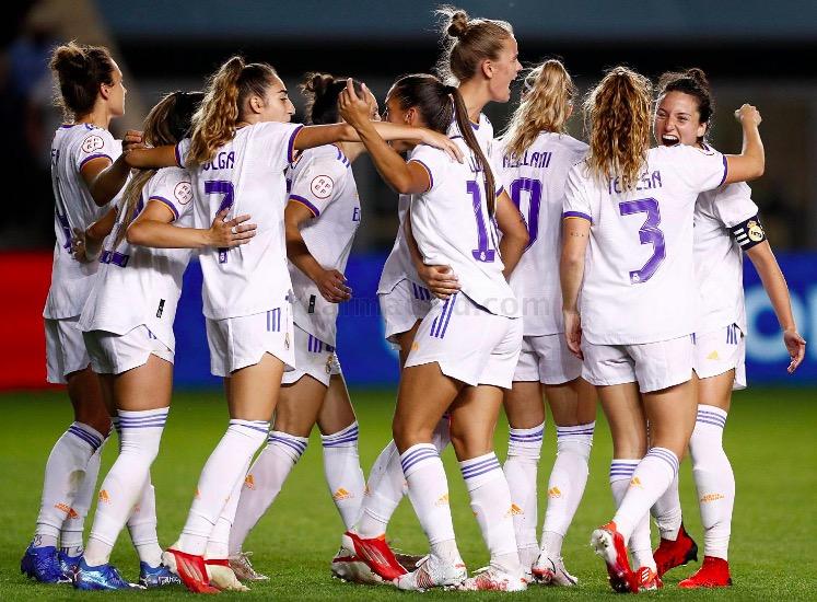 Les jugadores del Real Madrid celebrant el gol del partit davant del Manchester City | Real Madrid