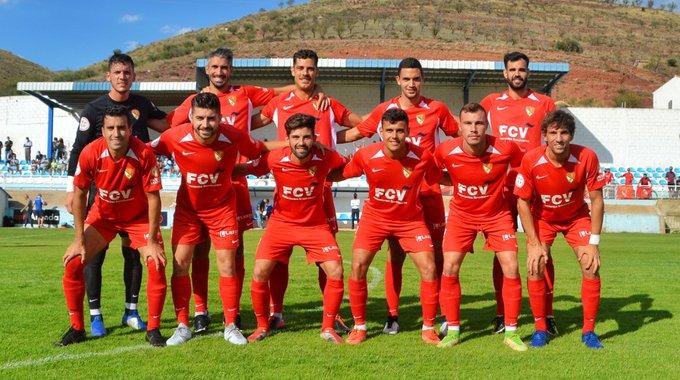 Onze inicial del Terrassa FC davant del CD Brea | Terrassa FC