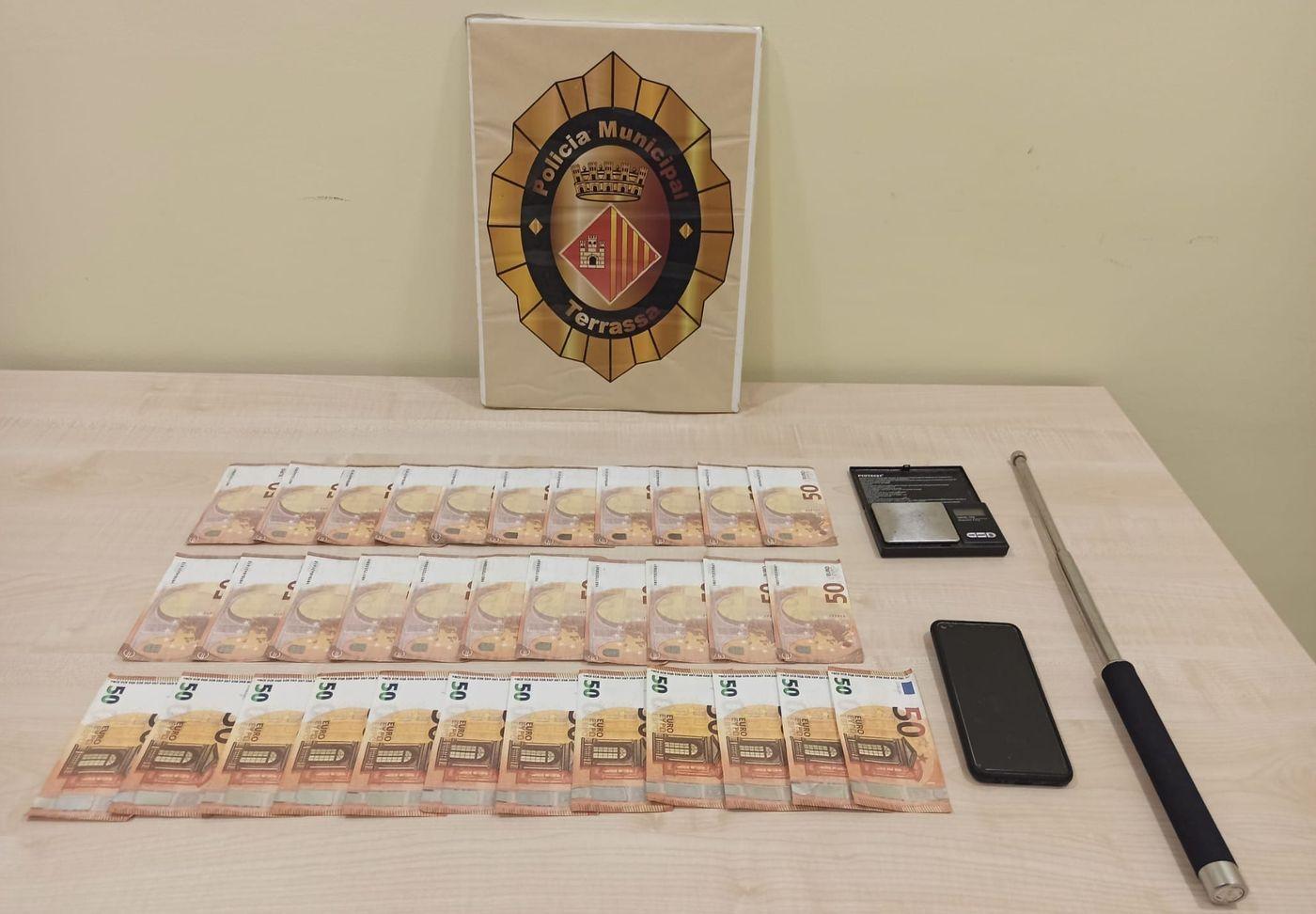 Els bitllets requisats per la Policia Municipal de Terrassa al conductor | Policia Municipal de Terrassa