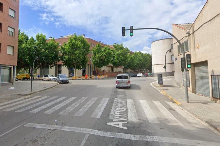 Cruílla entre avinguda Madrid i carrer Salamanca, a Terrassa | G.M.