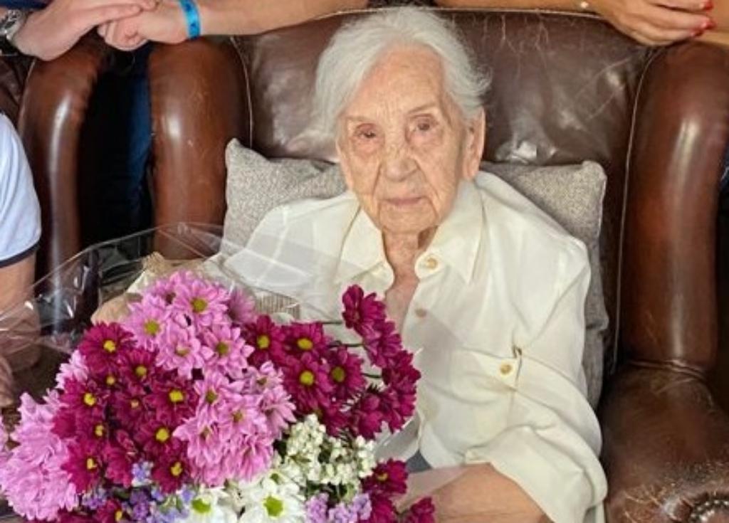 Maria Forrellad i Solà ha complert 104 anys | Aj. Matadepera