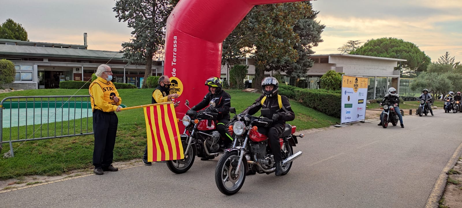 Les motocicletes participants en la primera MATHC Rider | ATHC