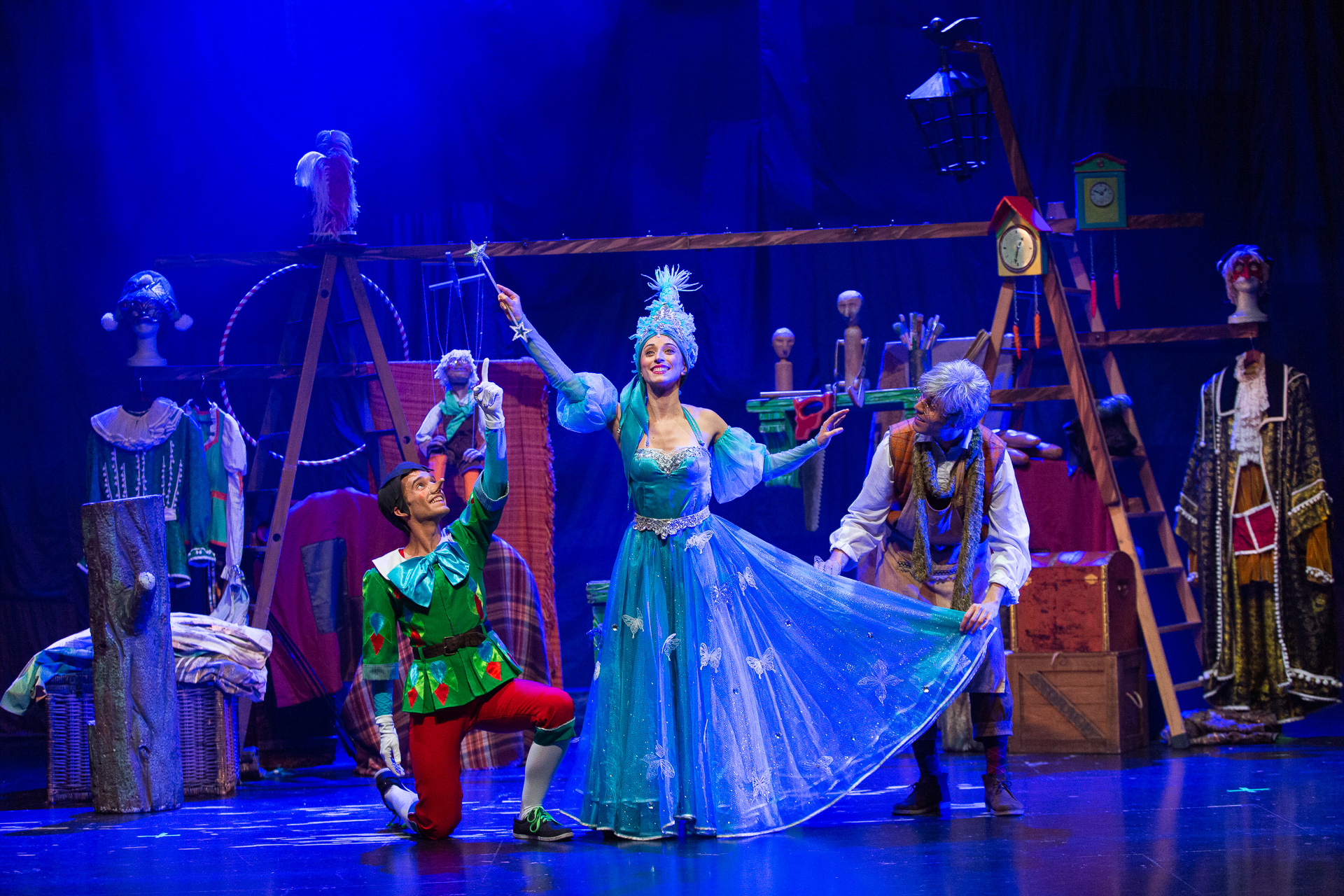 El musical Pinotxo de Trencadís Produccions | Factoria Cultural de Terrassa