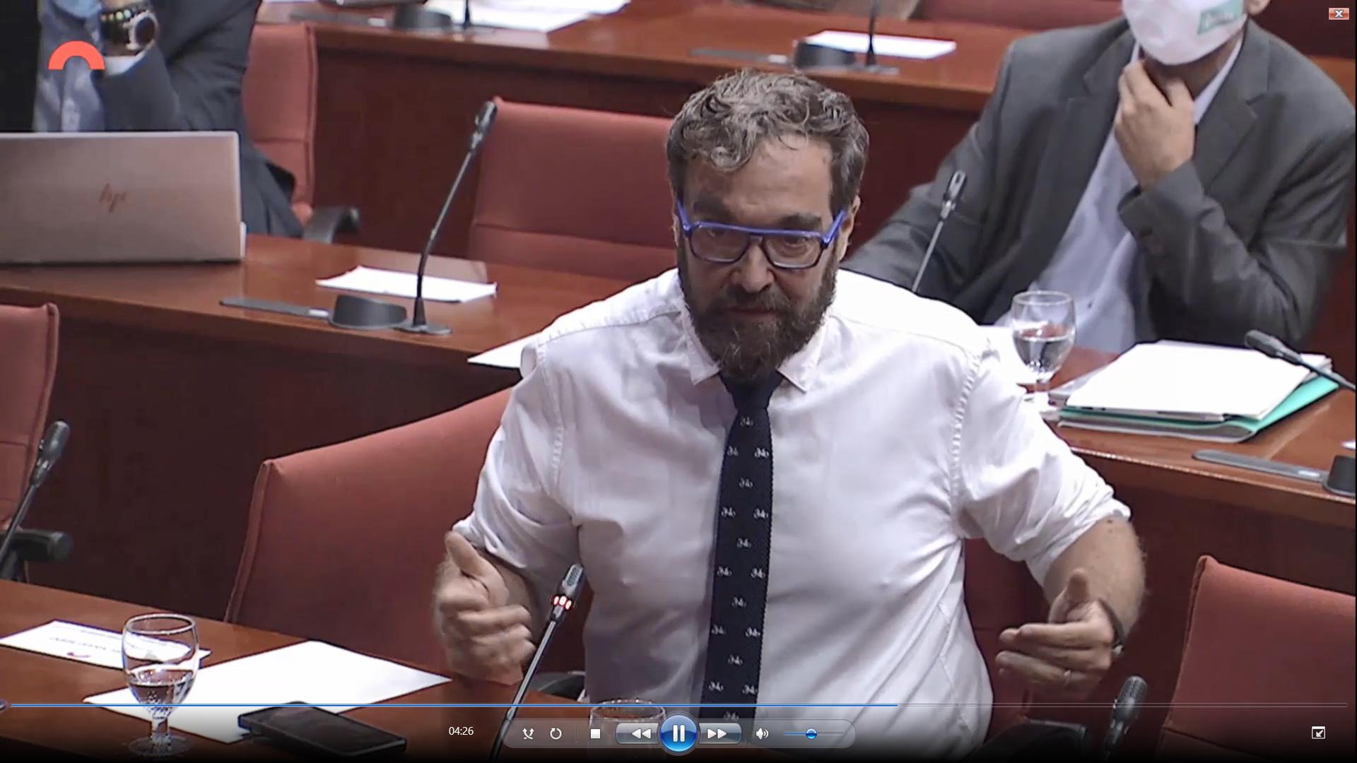 El diputat d'ERC al Parlament, Juli Fernández   Cedida