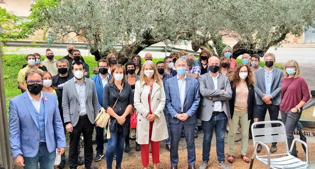 Trobada d'electes del Vallès Occidental a Ullastrell | ERC Vallès Occidental