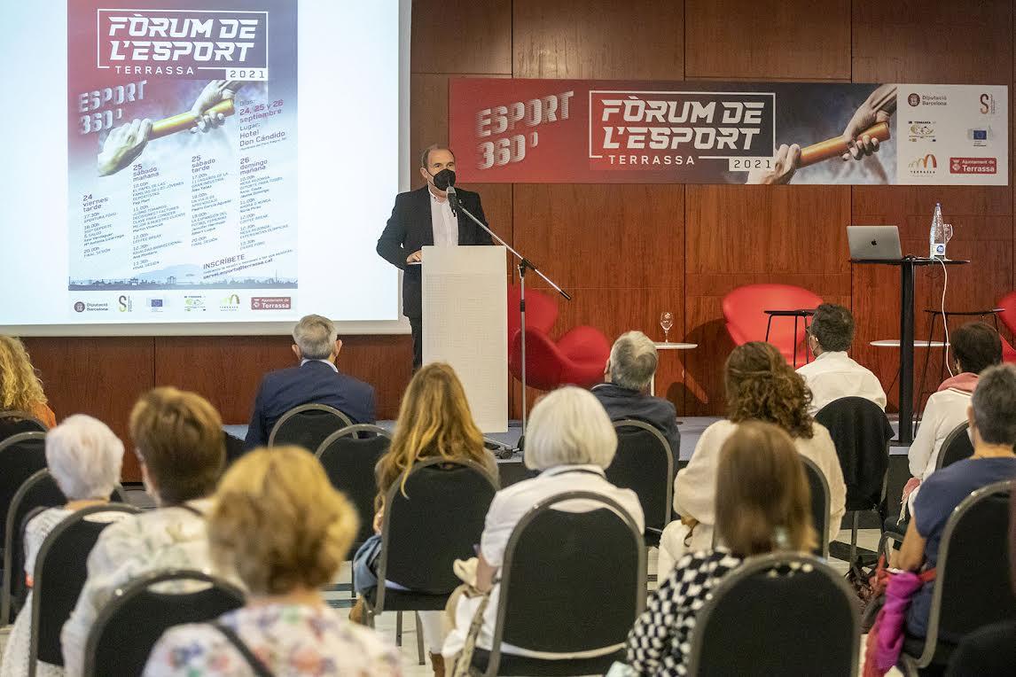 Jornada inaugural ahir al vespre del Fòrum de l'Esport a Terrassa | Ajuntament de Terrassa
