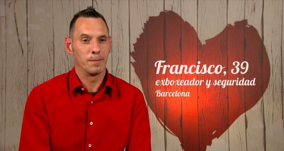Presentació de Francisco, concursant al programa First Dates   First Dates