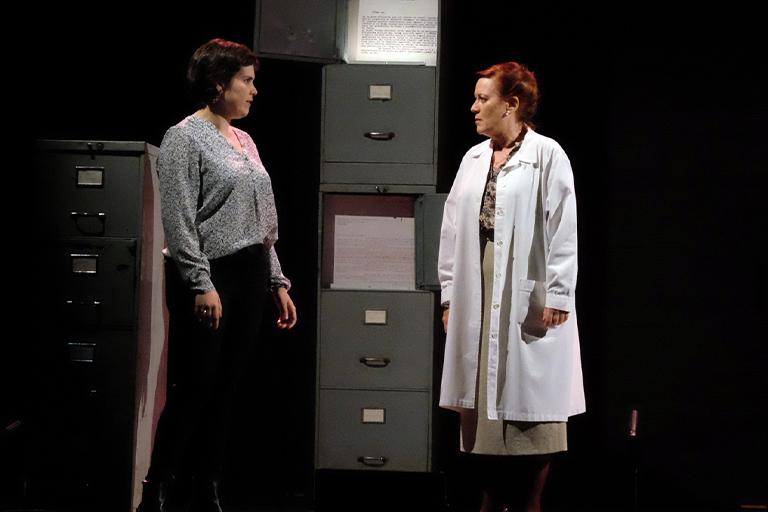 Les traces del silenci de la companyia Therkas Teatre   Teatre Eòlia