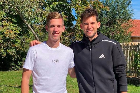 Dani Olmo i Dominich Thiem, de recuperació a Àustria