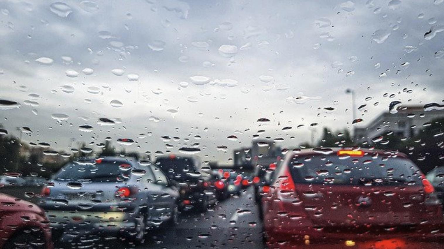 Pluja a les carretres catalanes/Gencat