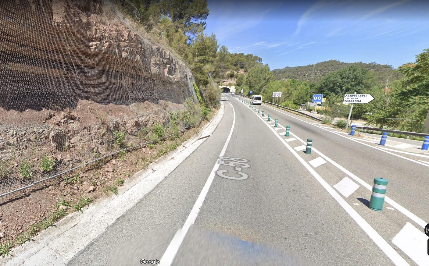 Túnel de La Bauma/Google Maps