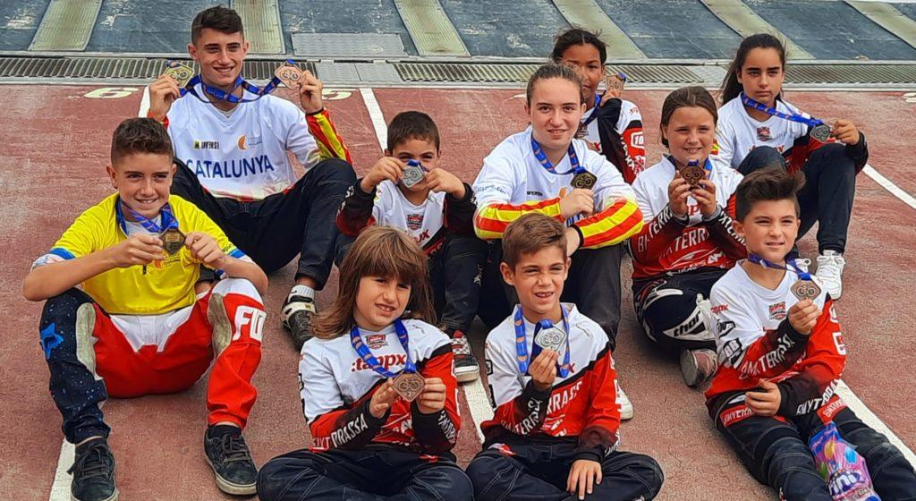 Corredors del BMX Terrassa al Campionat de Catalunya | BMX Terrassa