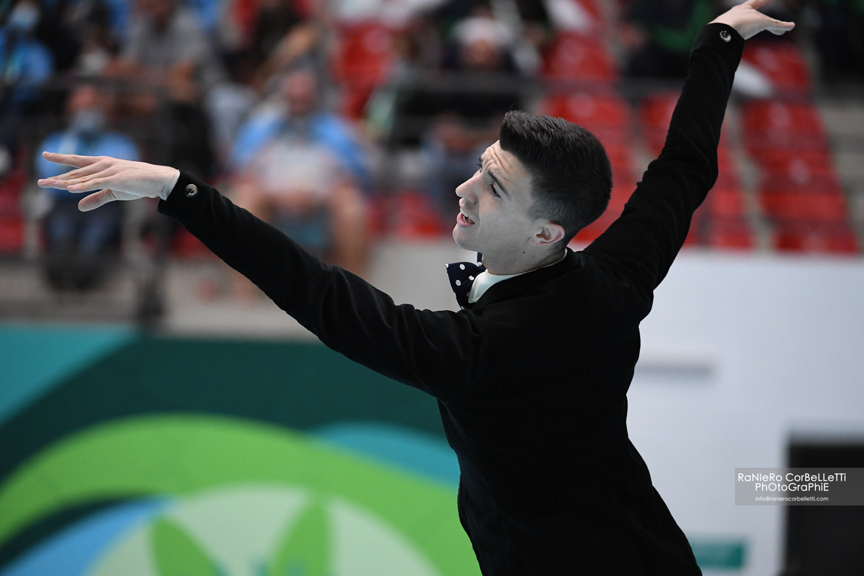 Llorenç Álvarez s'ha proclamat campió del món de patinatge artístic en categoria Solo Danza   Raniero Corbelletti - World Skate