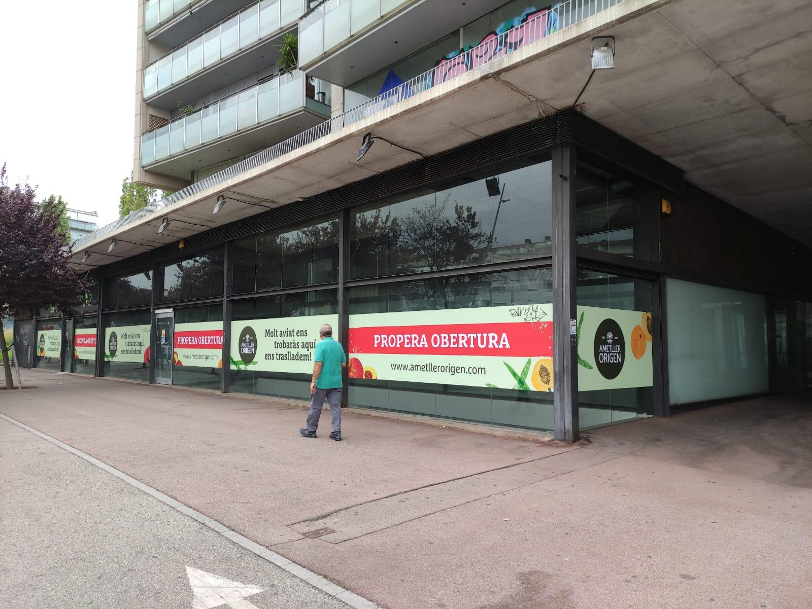 La botiga d'Ametller Origen al passeig 22 de juliol de Terrassa    Rosa Prat