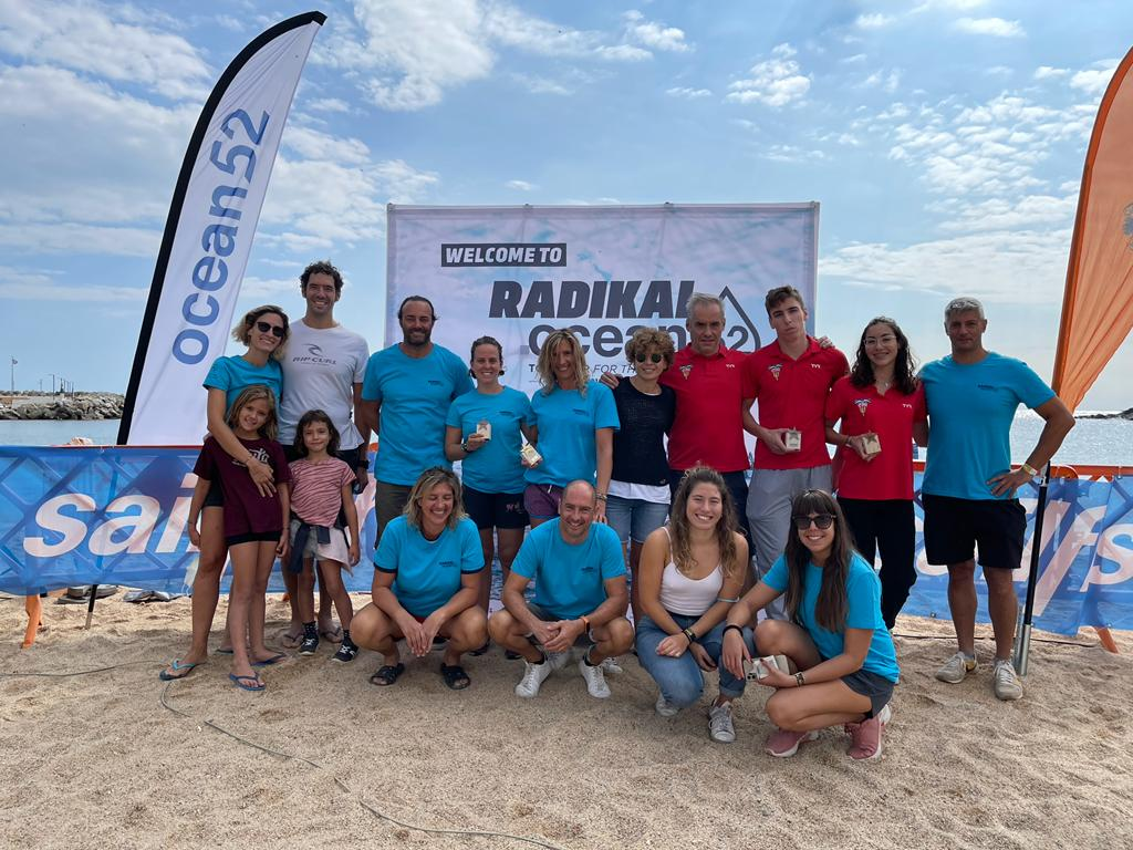 Participants del CN Terrassa a la Radikal Ocean52 | CNT