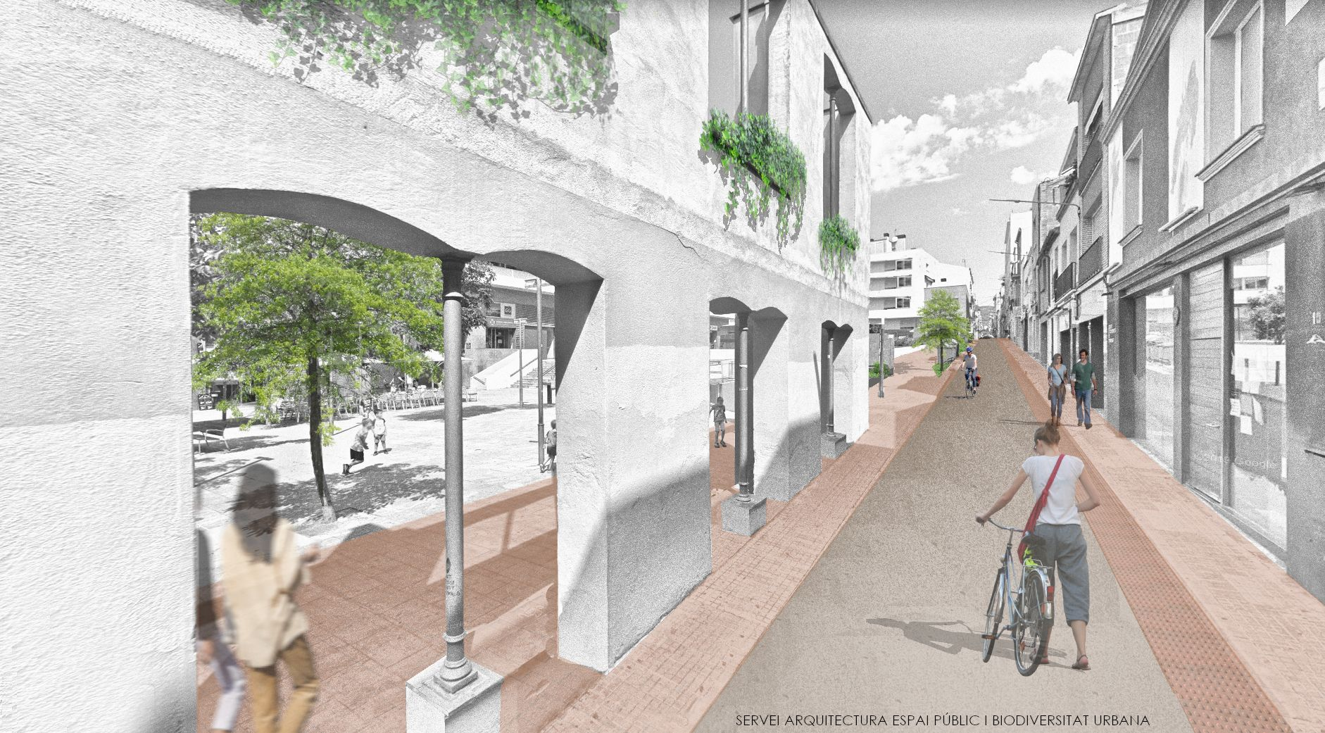 El nou carrer de Sant Llorenç/A.T.