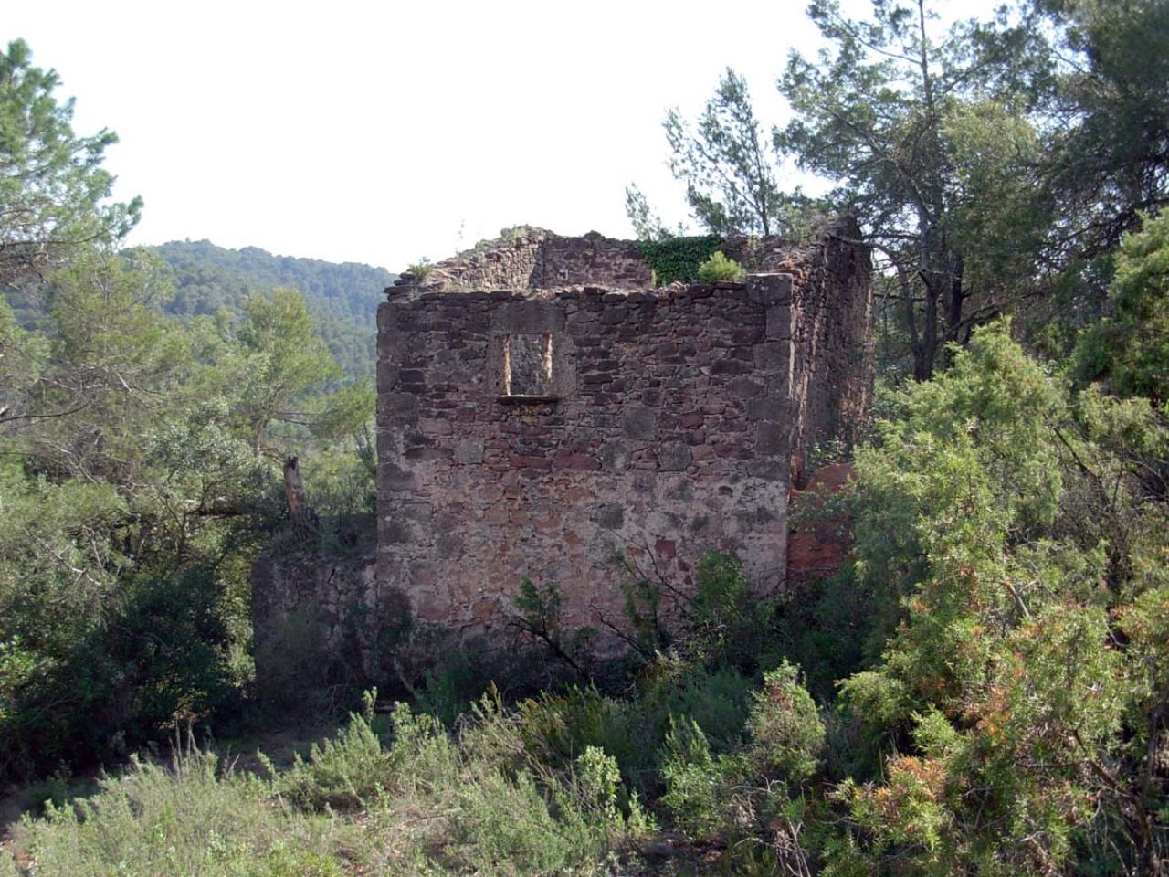 Casalot Corto Pio, al terme municipal de Vacarisses | Xarxa de Parc DIba