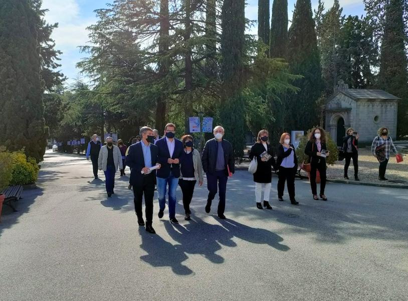 Visita institucional al Complex Funerari de Terrassa aquest migdia | Laura Gómez