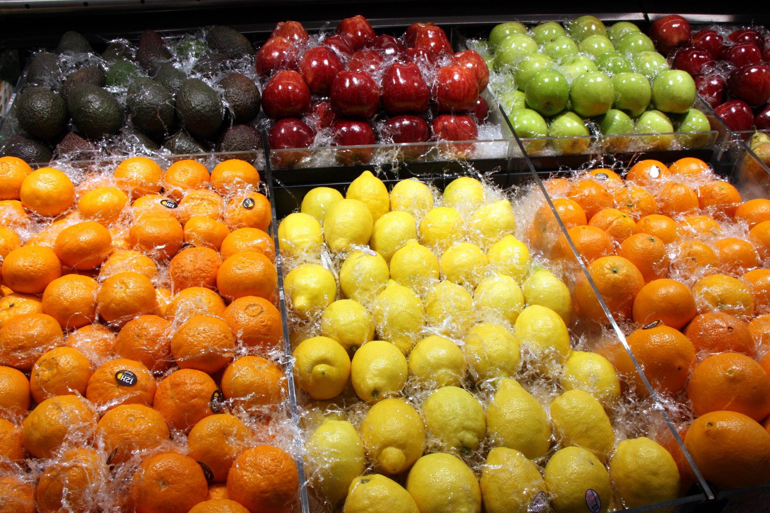 Aparador amb fruites i verdures | ACN