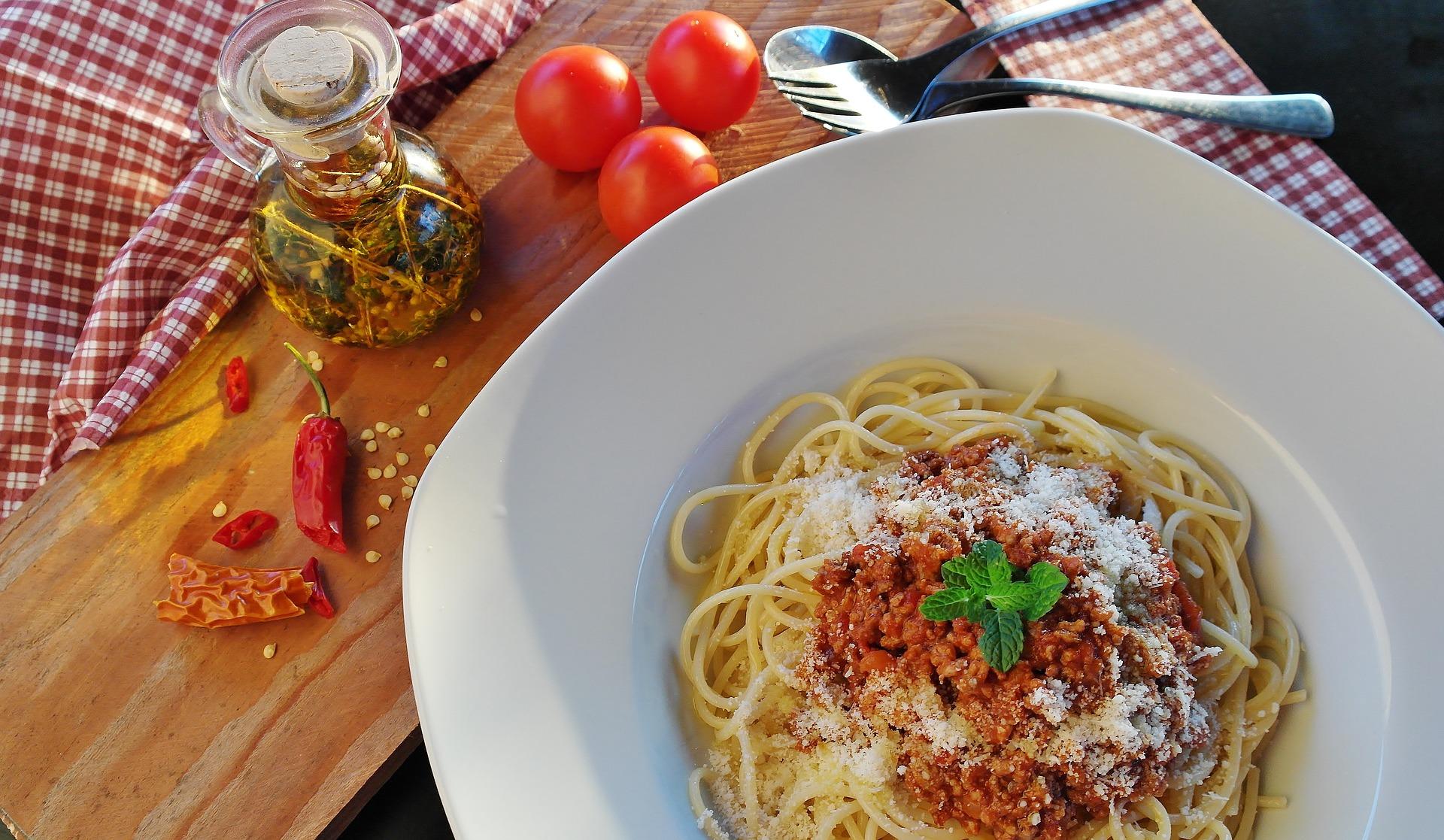 Plat d'spaghetti | Pixabay