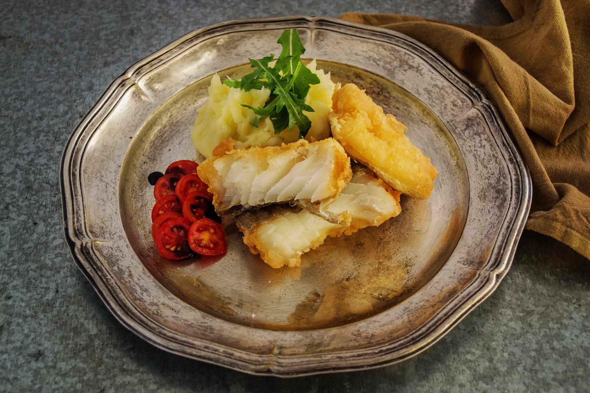 Un plat de bacallà | Pixabay