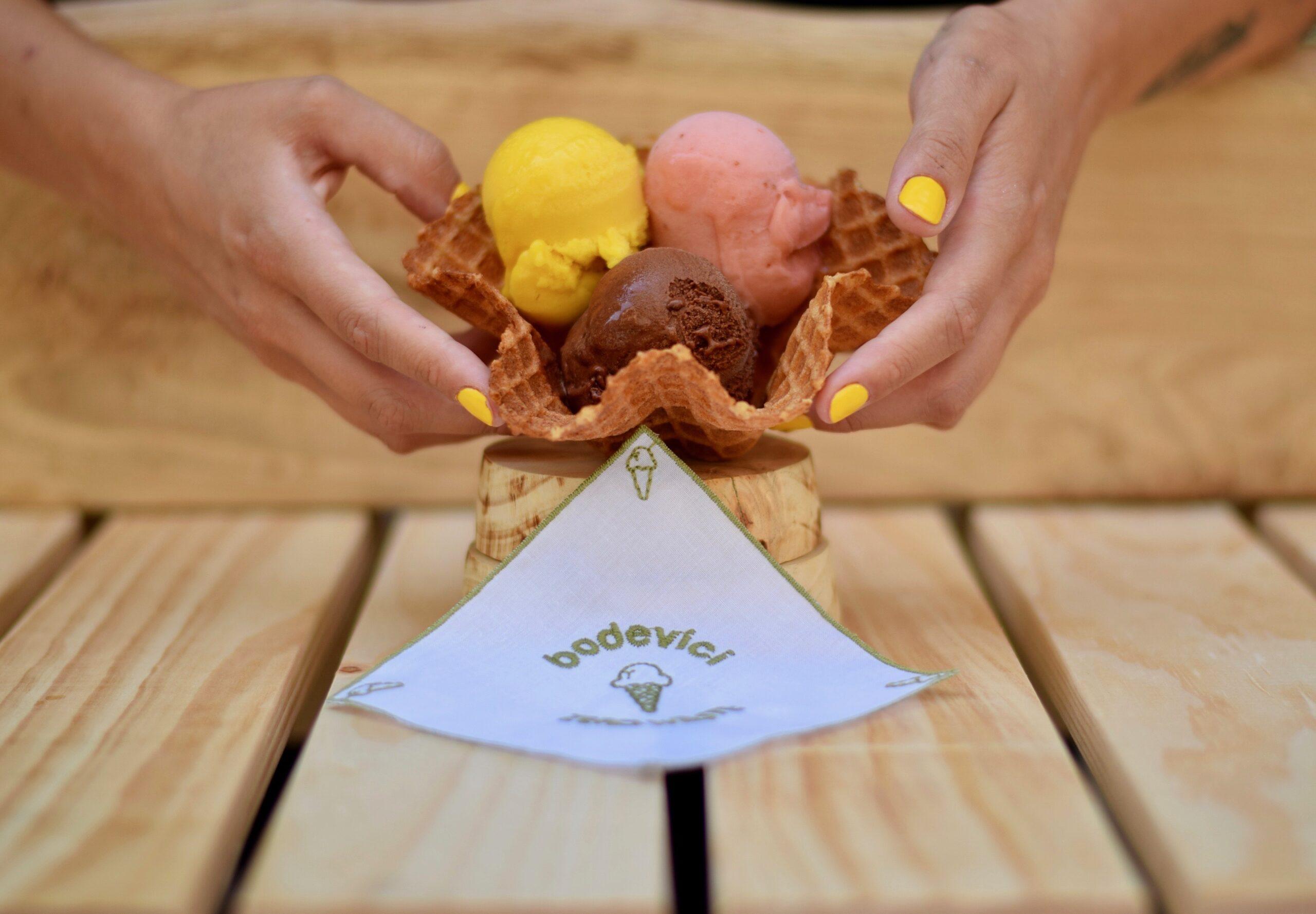 Gelats de la gelateria Bodevici | Cedida