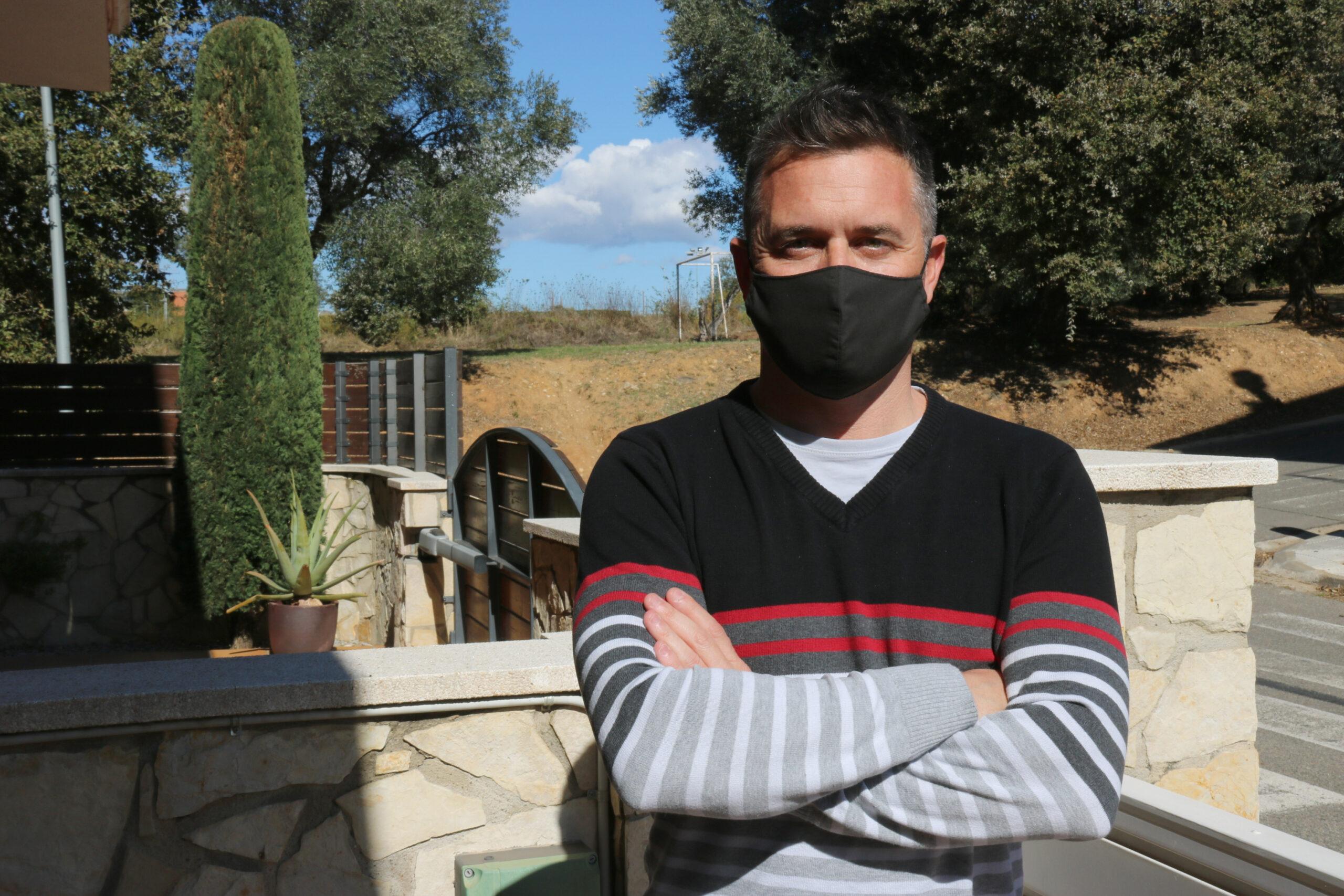 El promotor de la iniciativa i gerent de Creativa Online, Jordi Torres | ACN